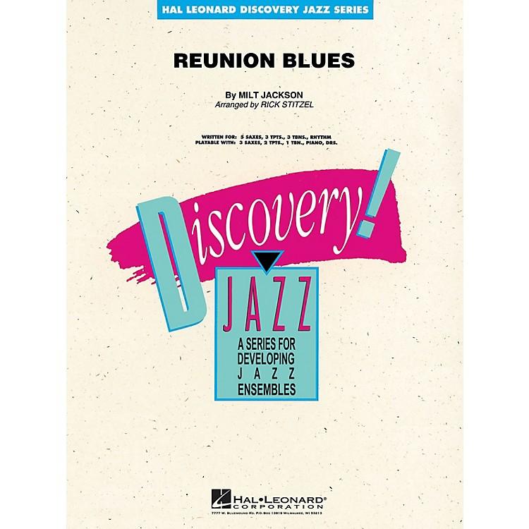 Hal LeonardReunion Blues Jazz Band Level 1.5 by Oscar Peterson Arranged by Rick Stitzel