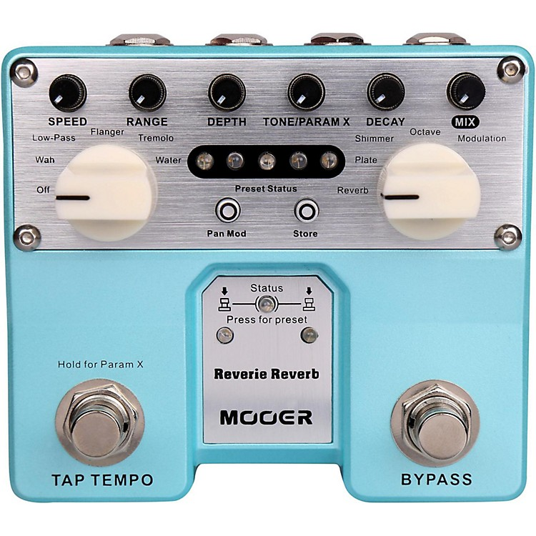 MooerReverie Reverb Effects Pedal