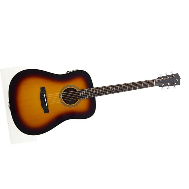 BreedloveRevival D/SMe Burst Acoustic-Electric Guitar
