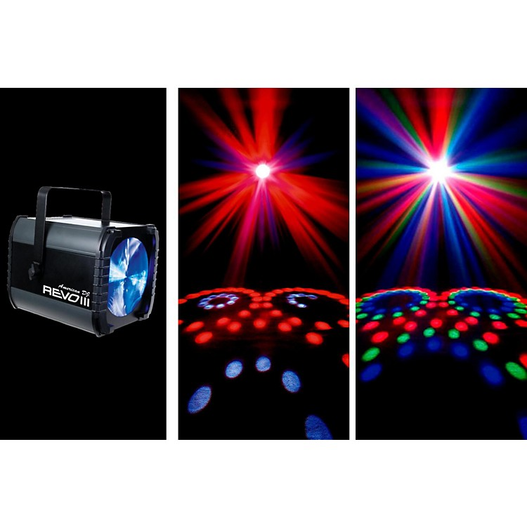American DJRevo III LED DMX Effect Light