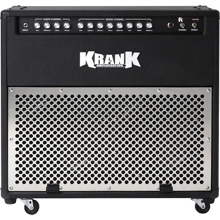 KrankRevolution 100W 2x12 Combination AmplifierRed, Black Grill889406775220
