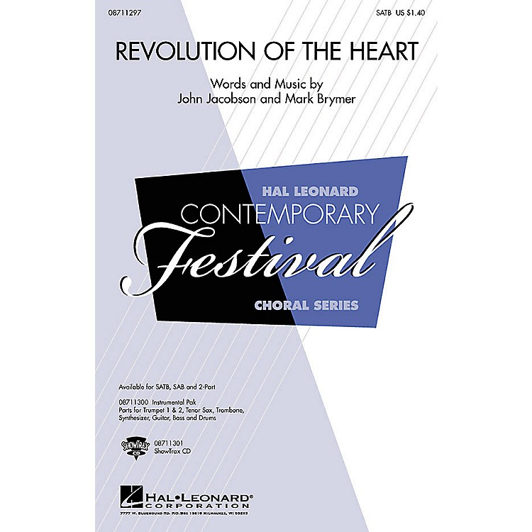 Hal Leonard Revolution of the Heart Combo Parts Composed by John Jacobson
