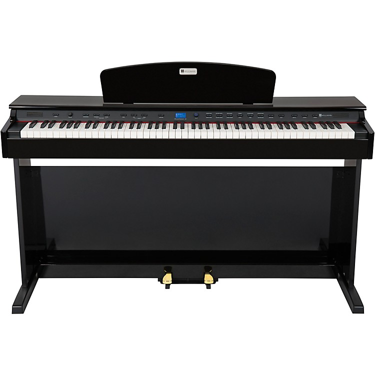 Williams Rhapsody 2 88-Key Console Digital Piano Ebony Polish