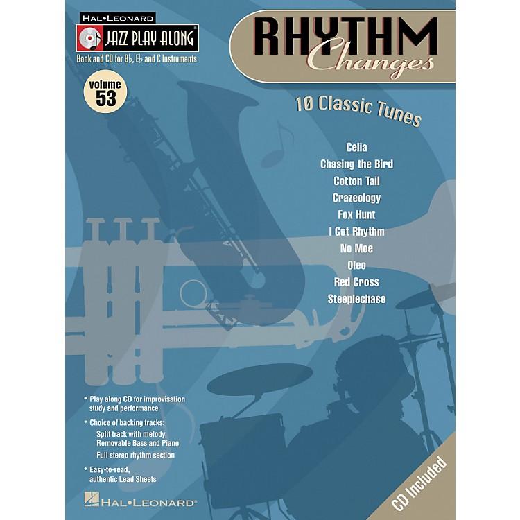 Hal LeonardRhythm Changes Volume 53 Jazz Play-Along Series Book with CD)