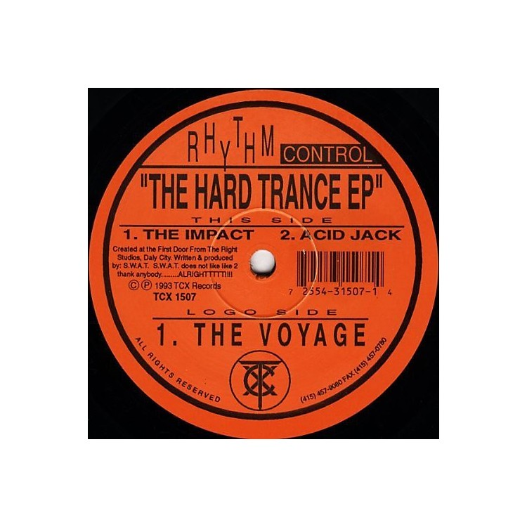 Alliance Rhythm Control - The Hard Trance EP