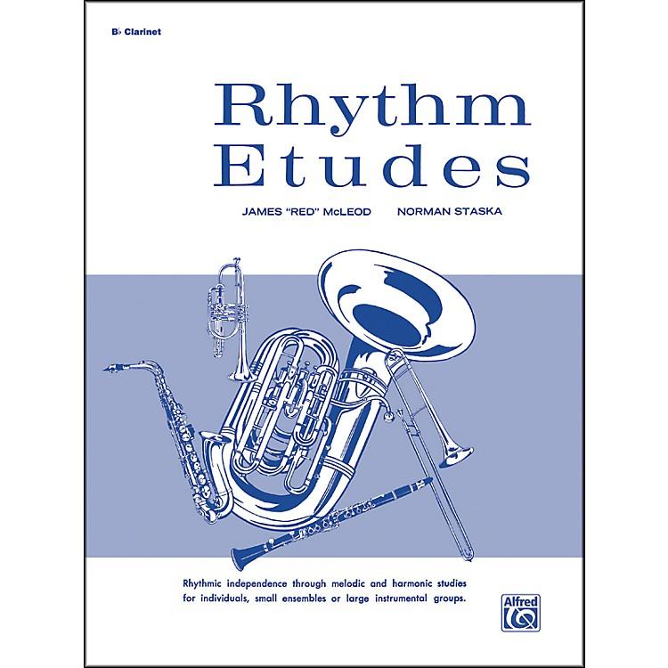 AlfredRhythm Etudes B-Flat Clarinet