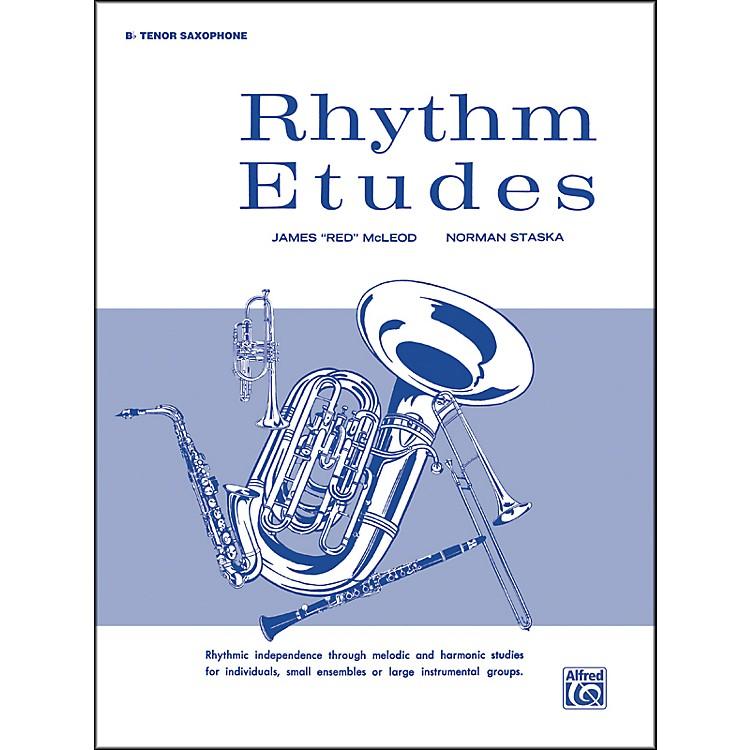 AlfredRhythm Etudes B-Flat Tenor Saxophone