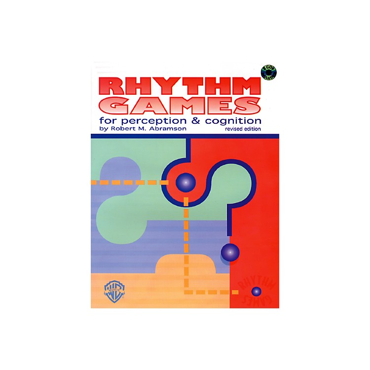 Alfred Rhythm Games for Perception & Cognition (Revised) Book & 2 CDs