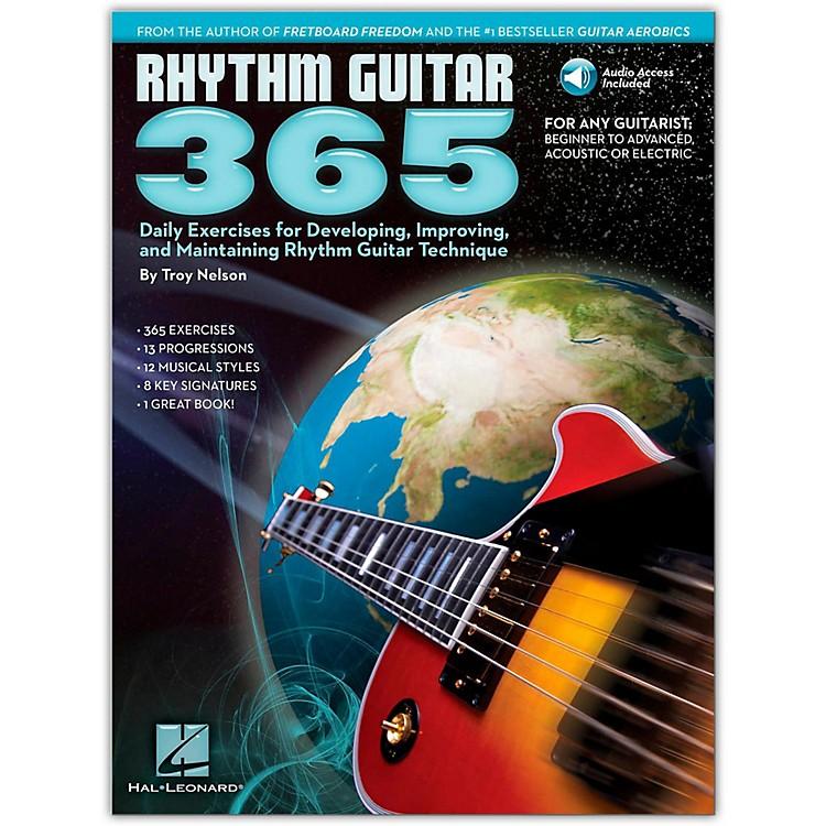 Hal LeonardRhythm Guitar 365 - Daily Exercises Book/Online Audio