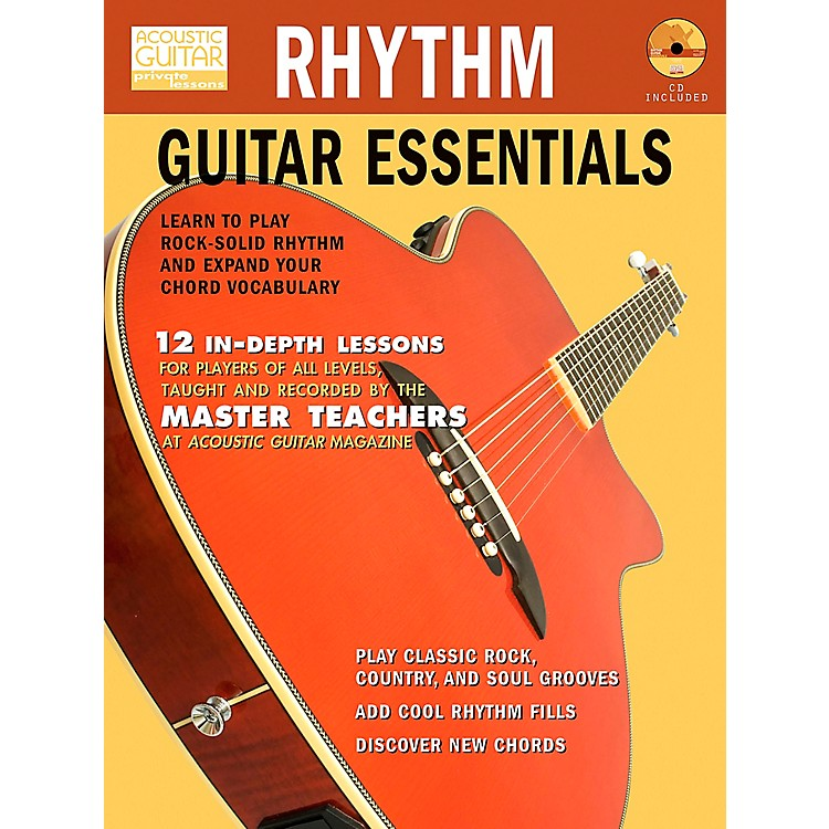 Hal LeonardRhythm Guitar Essentials (Book/CD)