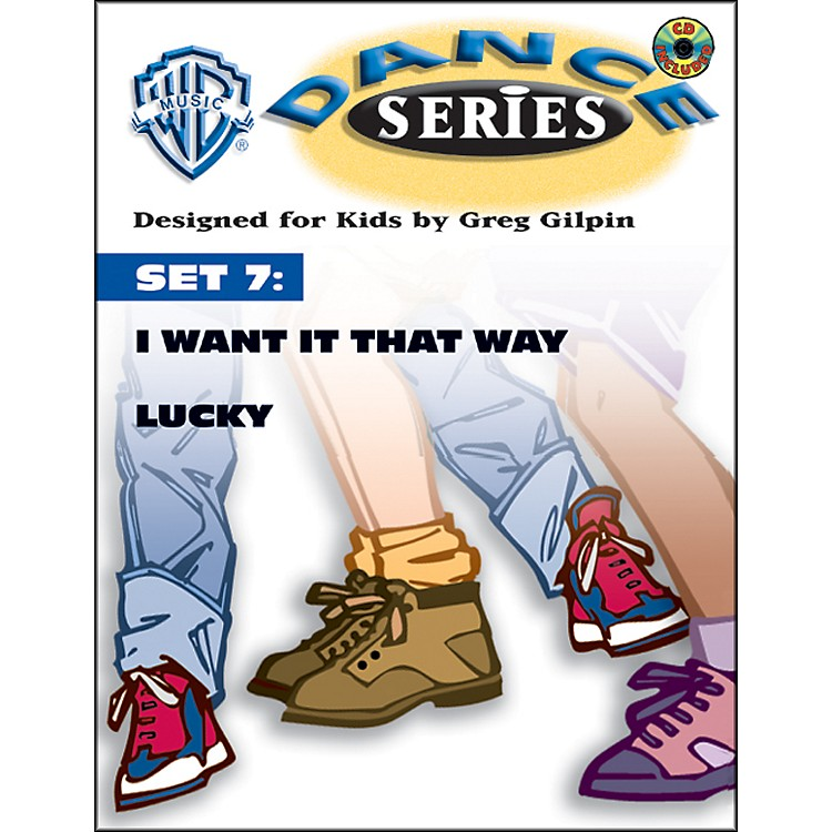 Alfred Rhythm & Movement Dance Series Set 7 I Want It That Way / Lucky