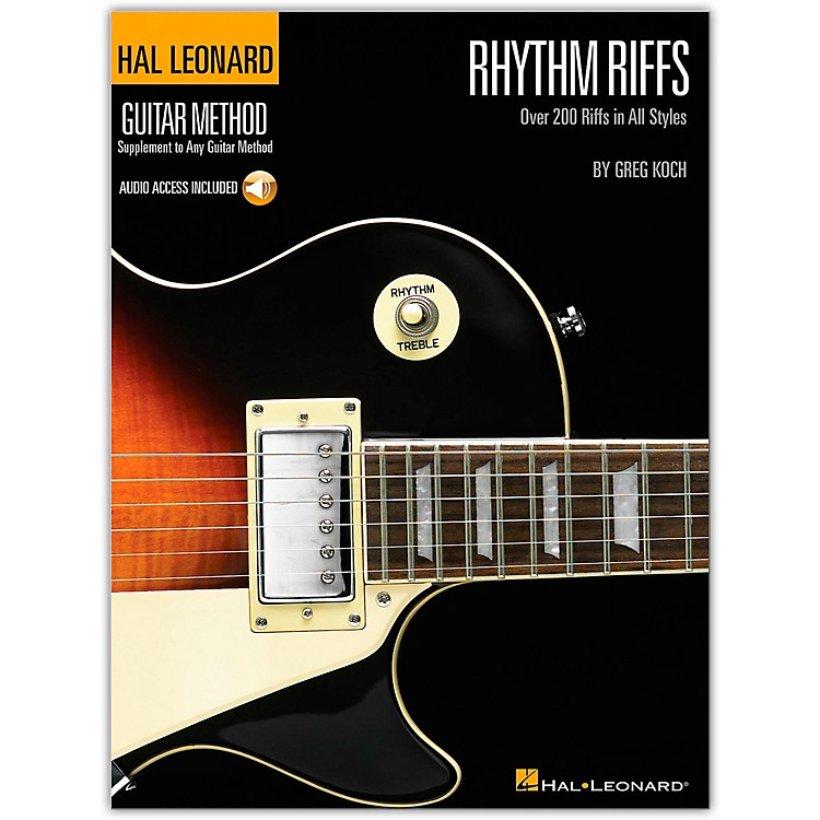 Hal Leonard Rhythm Riffs (Book/Online Audio)