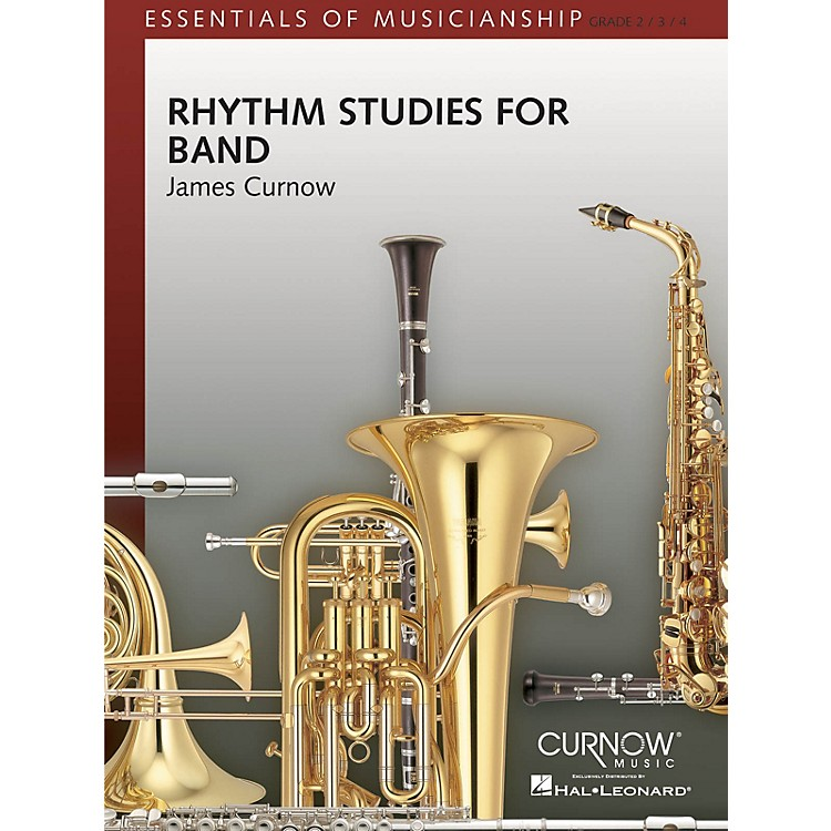 Curnow Music Rhythm Studies for Band (Grade 2 to 4 - Score and Parts) Concert Band Level 2-4 Composed by James Curnow
