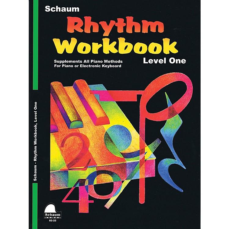 SCHAUMRhythm Workbook (Level 1) Educational Piano Book by Wesley Schaum (Level Late Elem)