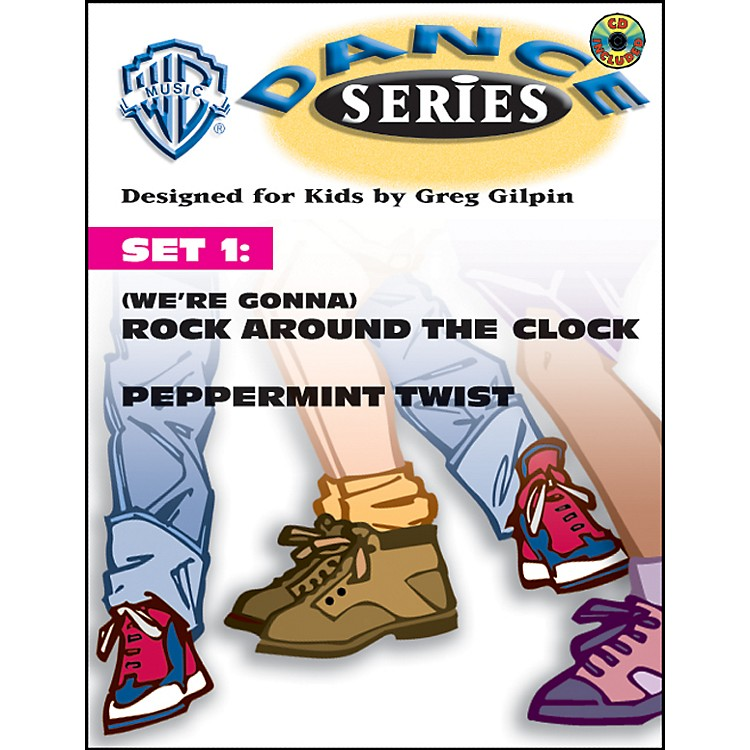 AlfredRhythm and Movement WB Dance Series Set 1: (We're Gonna) Rock Around the Clock and Peppermint Twist Book & CD Lyric/Choreography Pack