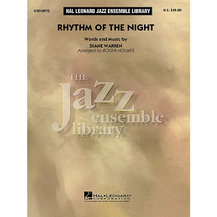 Hal Leonard Rhythm of the Night Jazz Band Level 4 by DeBarge Arranged by Roger Holmes