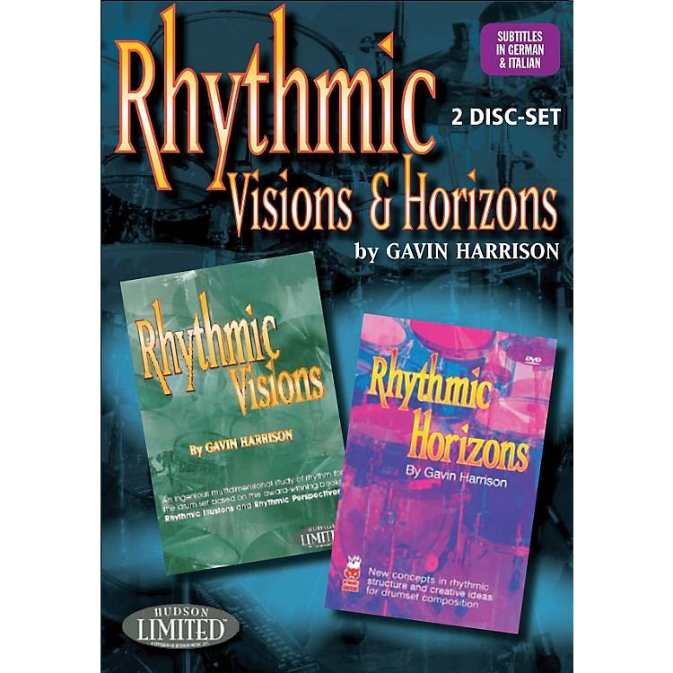 Hudson MusicRhythmic Visions & Horizons with Gavin Harrison 2 DVD Set