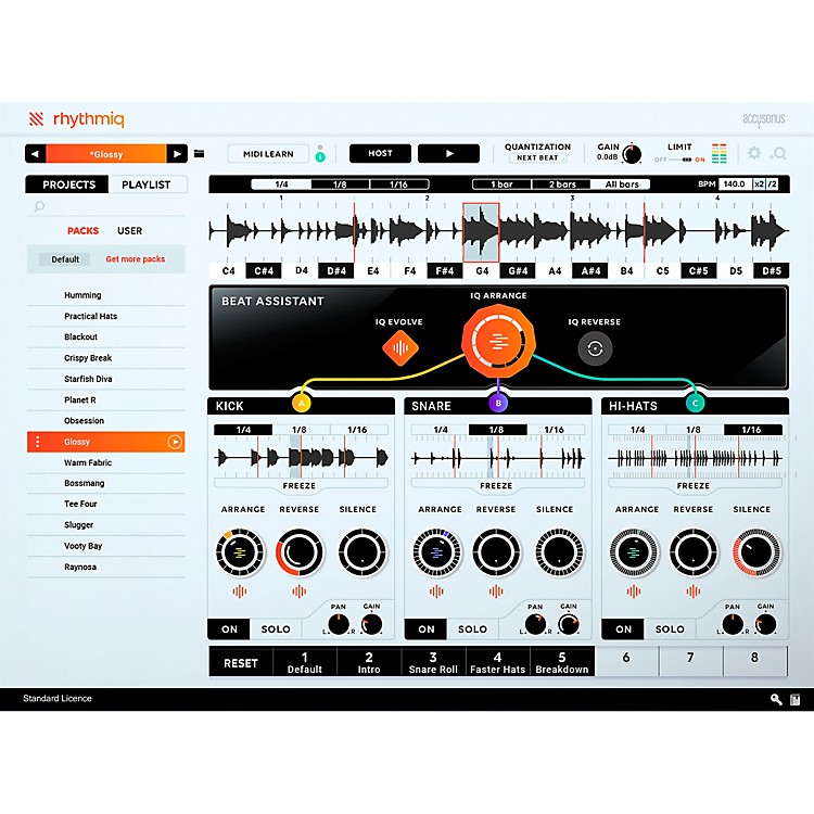 AccusonusRhythmiq Virtual Instrument Plug-In (Download)