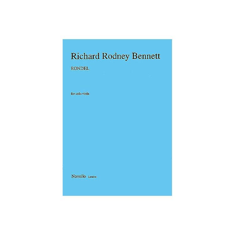 Music SalesRichard Rodney Bennett: Rondel For Solo Viola Music Sales America Series
