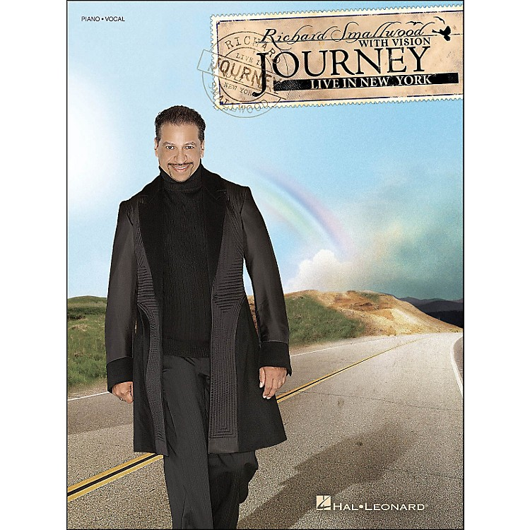 Hal LeonardRichard Smallwood Journey: Live In New York arranged for piano, vocal, and guitar (P/V/G)