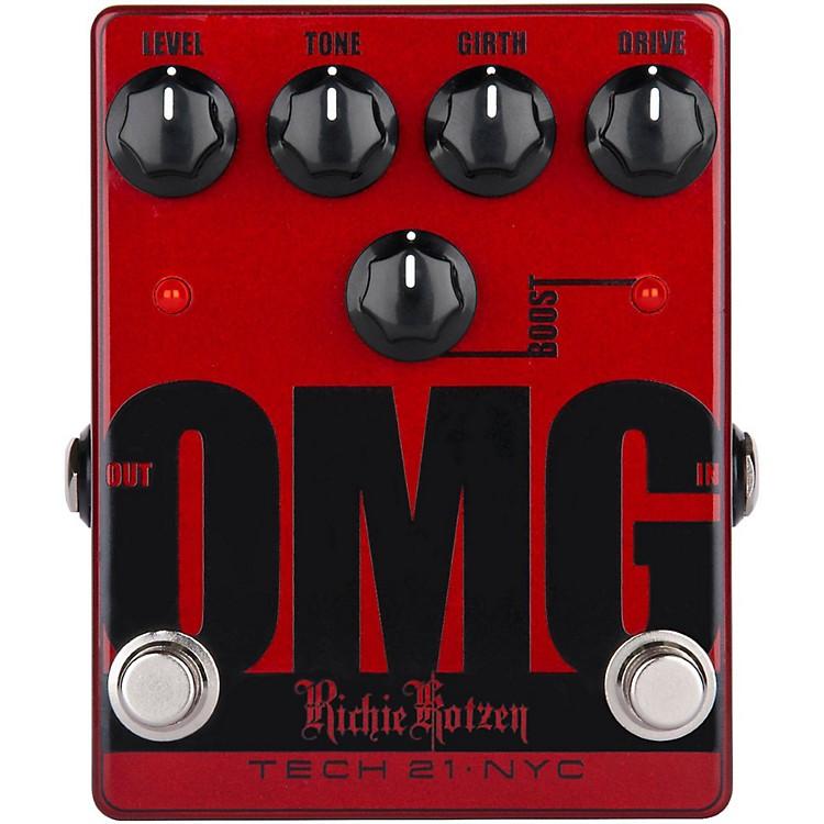 Tech 21Richie Kotzen OMG Signature Overdrive Guitar Effects Pedal