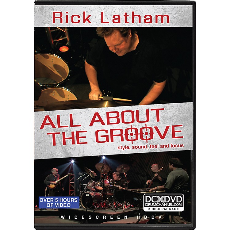 AlfredRick Latham - All About the Groove: Style, Sound, Feel, and Focus (3-DVD Set)
