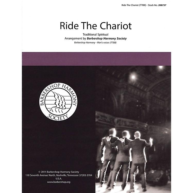 Hal LeonardRide the Chariot TTBB A Cappella