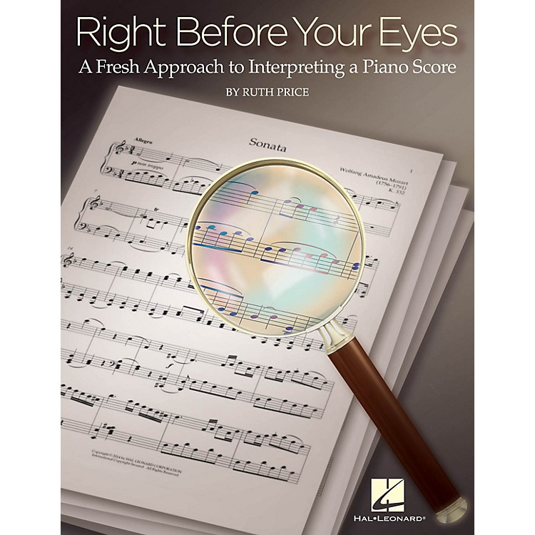 Hal LeonardRight Before Your Eyes Educational Piano Library Series Softcover Written by Ruth Price