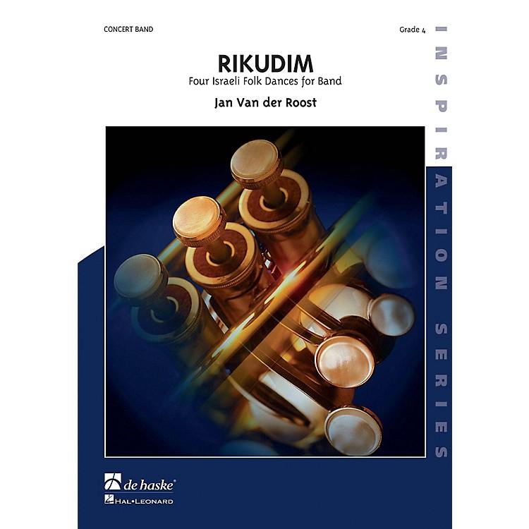 De Haske MusicRikudim (Four Israeli Folkdances for Band) Concert Band Level 4 Composed by Jan Van der Roost