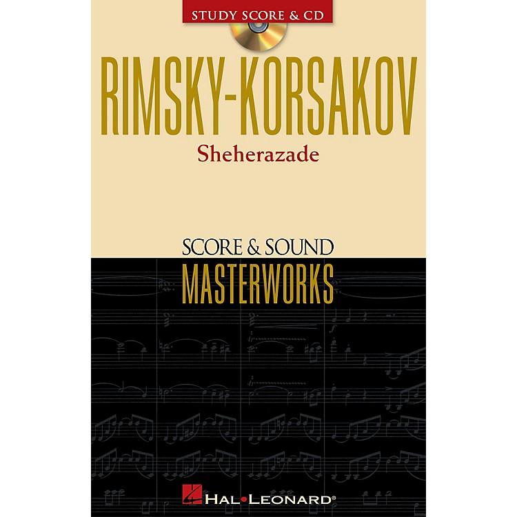 Hal LeonardRimsky-Korsakov - Sheherazade Study Score with CD Series Softcover with CD by Nikolai Rimsky-Korsakov