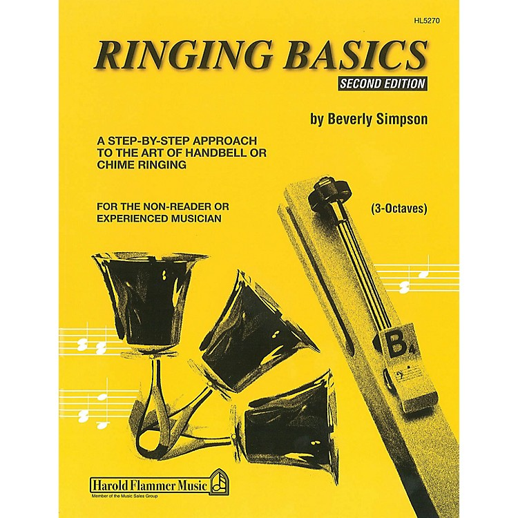 Hal Leonard Ringing Basics Handbell Method Book Vol. 2 - 2nd Edition (for 3-Octave Handbells)