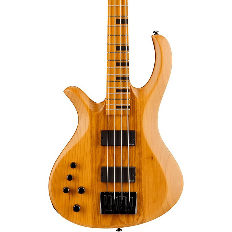 Schecter Guitar Research Riot-4 Session Left-Handed Electric Bass Guitar Satin Aged Natural