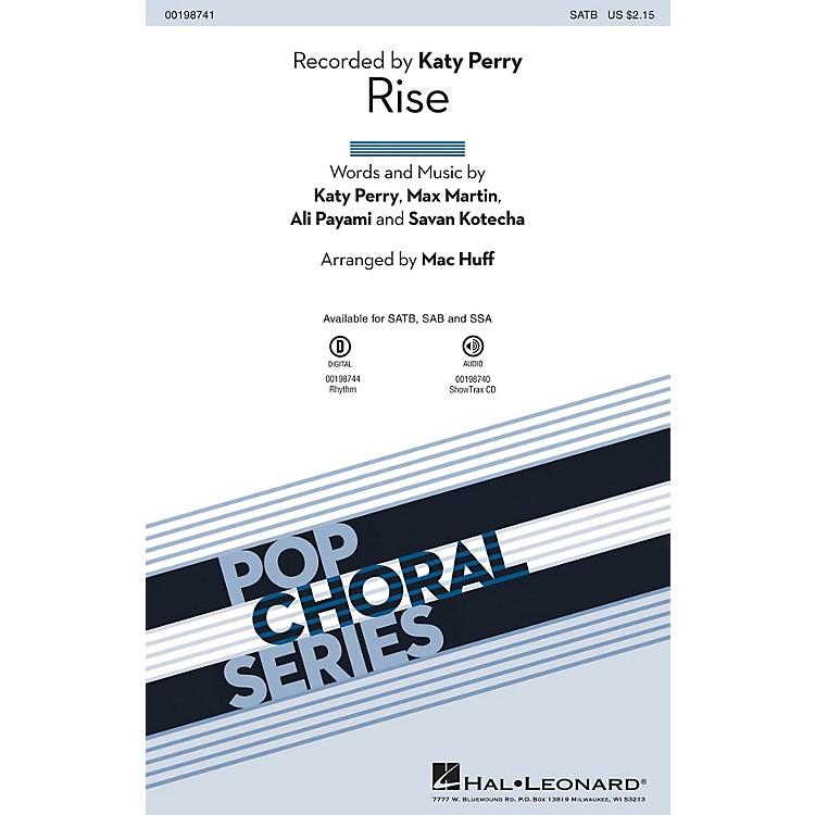 Hal LeonardRise SAB by Katy Perry Arranged by Mac Huff