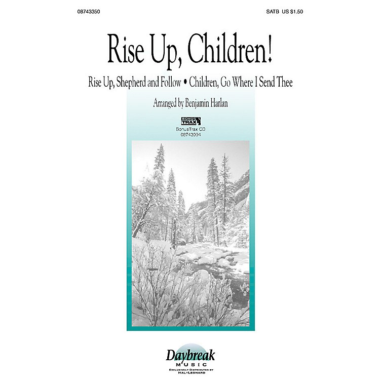 Daybreak Music Rise Up, Children! (Instrumental Pak (Combo)) IPAKO Arranged by Benjamin Harlan