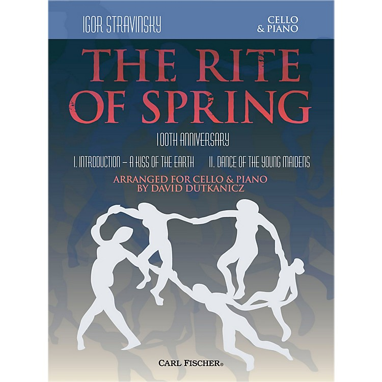 Carl FischerRite of Spring - Mvts. I & II for Cello & Piano (Book + Sheet Music)