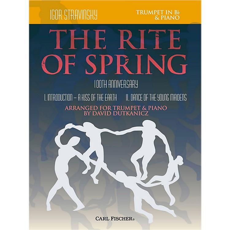 Carl FischerRite of Spring - Mvts. I & II for Trumpet & Piano (Book + Sheet Music)