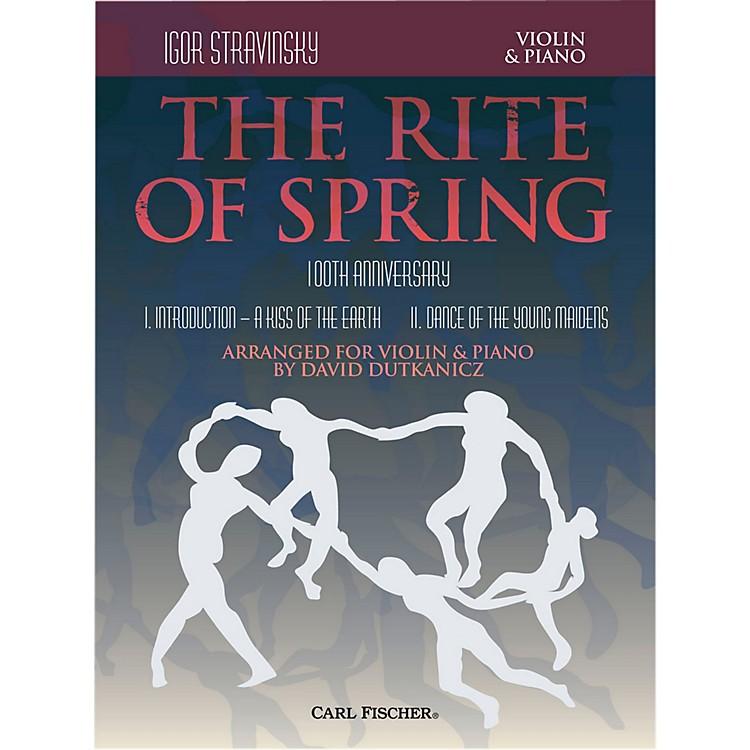 Carl FischerRite of Spring - Mvts. I & II for Violin & Piano (Book + Sheet Music)