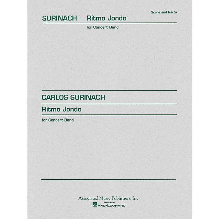 AssociatedRitmo Jondo (Score and Parts) Concert Band Level 4-5 Composed by Carlos Surinach