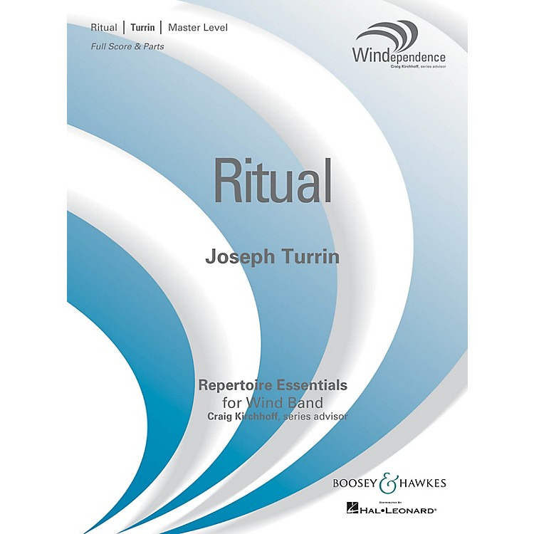 Boosey and HawkesRitual (Score Only) Concert Band Level 4 Composed by Joseph Turrin