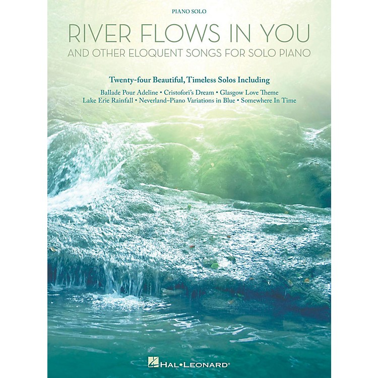 Hal LeonardRiver Flows In You And Other Eloquent Songs For Solo Piano