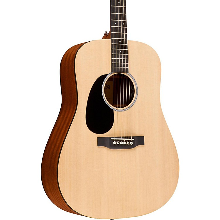 Martin Road Series DRS2 Dreadnought Left-Handed Acoustic-Electric Guitar Natural