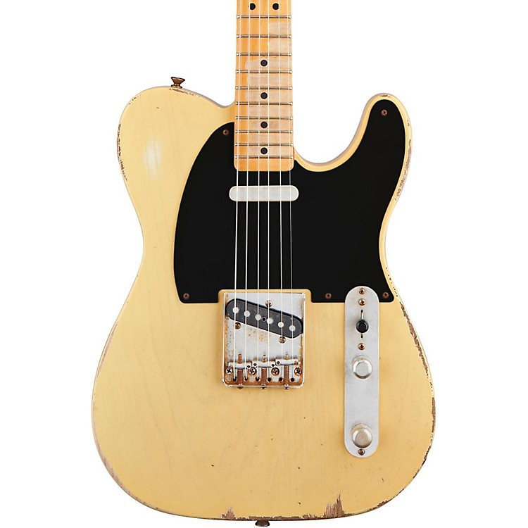 Fender Road Worn '50s Telecaster Electric Guitar Blonde