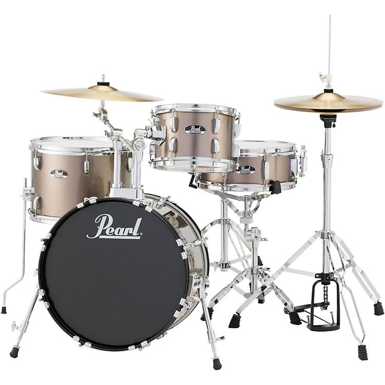 PearlRoadshow 4-Piece Jazz Drum SetBronze Metallic