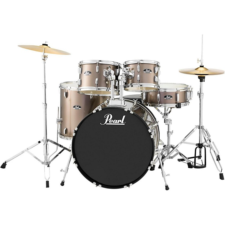 Pearl Roadshow 5-Piece New Fusion Drum Set Bronze Metallic