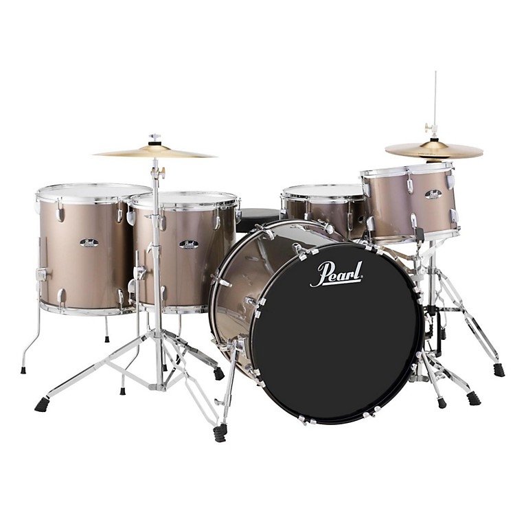 Pearl Roadshow 5-Piece Rock Drum Set Bronze Metallic