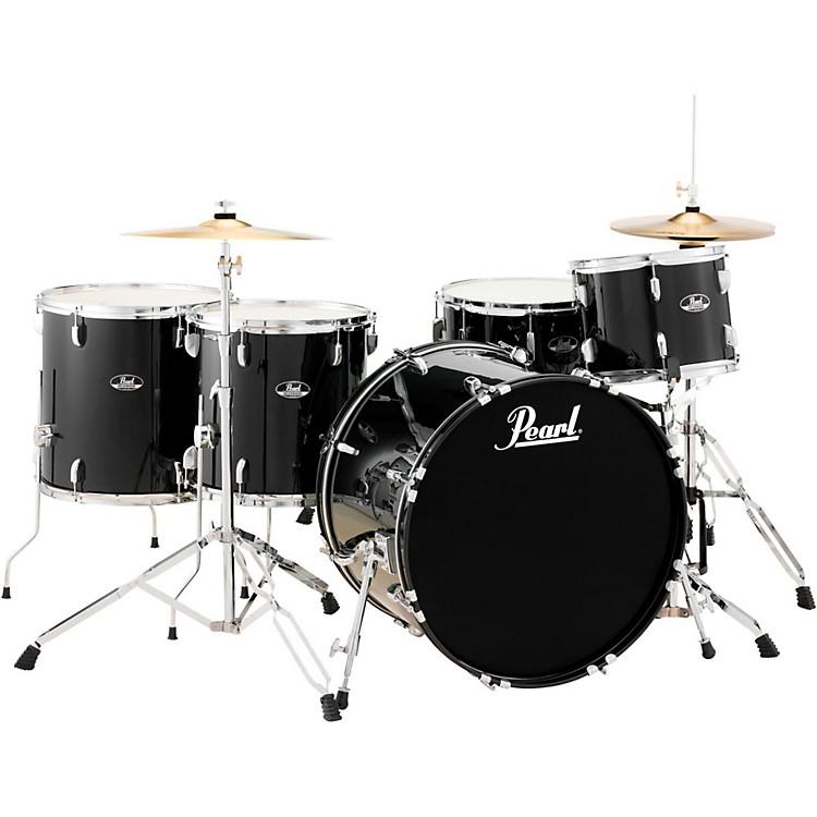 PearlRoadshow 5-Piece Rock Drum SetJet Black