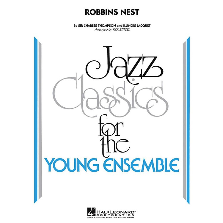 Hal LeonardRobbins Nest Jazz Band Level 3