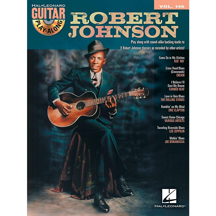 Hal Leonard Robert Johnson - Guitar Play-Along Volume 146 Book/CD