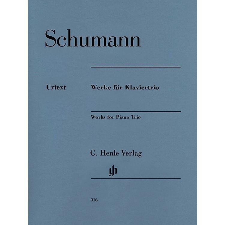 G. Henle VerlagRobert Schumann - Works for Piano Trio Henle Music Composed by Schumann Edited by Ernst Herttrich