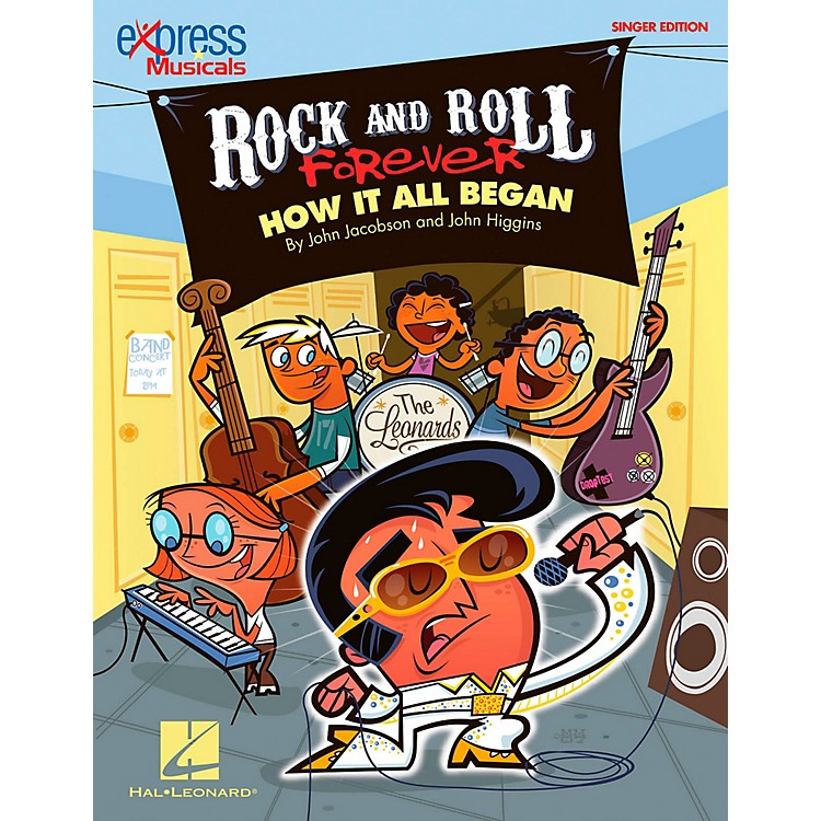 Hal LeonardRock And Roll Forever - How It All Began (A 30-Minute Musical Revue) Singer's Edition 20 Pak